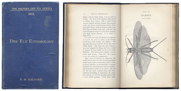 """Dry Fly Entomology"" by F.M. Halford"